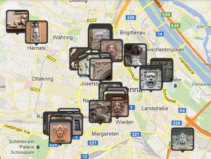 Masken Stadtplan